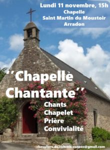 chapelle chantante arradon