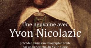 Philippe-Guy Charrière présente une neuvaine avec Nicolazic