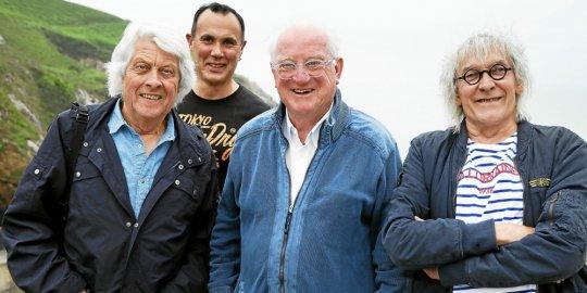 Les Tri Yann, Jorj Belz, Pascal Jaouen & Anna Mouradova recevront le Collier de l'Hermine