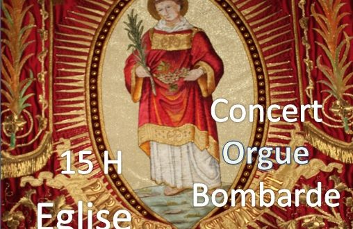 [SAINT VINCENT-SUR-OUST] Une bénédiction de bannière et un concert bombarde et orgue le 26 janvier