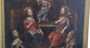 Les « tableaux de dévotion » du presbytère de Pont-Scorff : Illustration des mystères de la Trinité et de l'Incarnation / la Sainte Famille