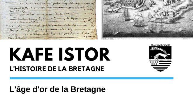 [MISSION BRETONNE PARIS] Conférence sur l'âge d'or de la Bretagne le 29/02