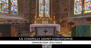 [LORIENT] Une visite virtuelle avec panorama 360° de la chapelle Saint Christophe