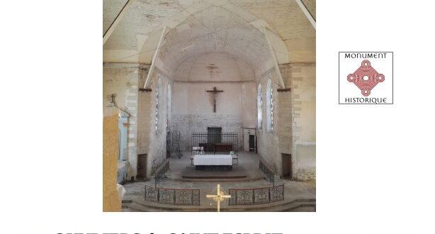 [QUIMPER] La chapelle du Saint-Esprit ouverte pour les Journées du patrimoine… et une nomination au Grand Prix Pèlerin du Patrimoine!