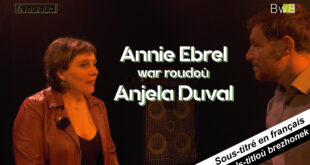 Annie Ebrel war roudoù Anjela Duval / sur les trace d'Anjela Duval