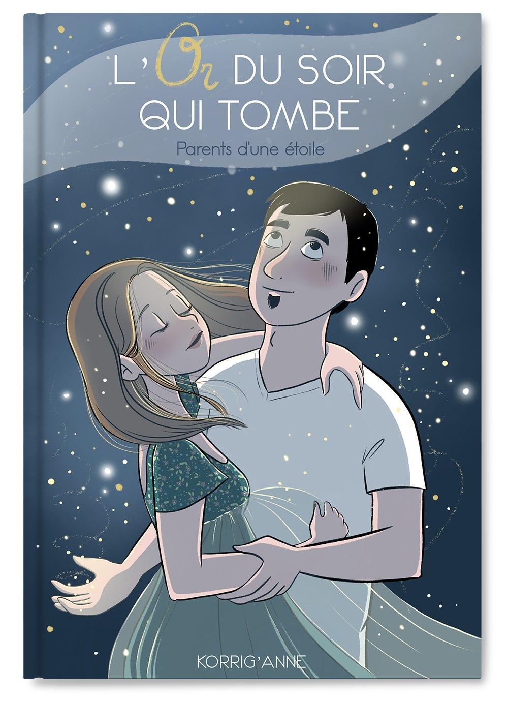 """""""L'Or du soir qui tombe""""  : la première BD de Korrig'Anne sur le deuil périnatal"""
