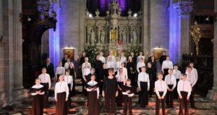 Concert de Noël en Bretagne par la Maîtrise de Sainte Anne d'Auray (replay)