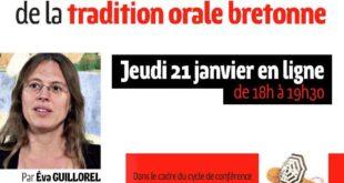 Les débats sur l'authenticité dans la « fabrique » de la tradition orale bretonne par Éva Guillorel (replay)
