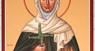 1/02 : SANTEZ BERC'HED, ABADEZ / Sainte Brigitte de Kildare, abbesse