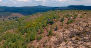 La vallée de St Rivoal en drone