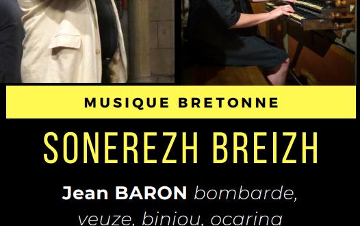 [CARNAC] Concert de musique bretonne avec Claude Nadeau & Jean Baron, le 3 août 2021