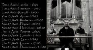 Le chant des trépassés, ou le concert lumineux du Trio Kervarec / Le Bot / Dudognon