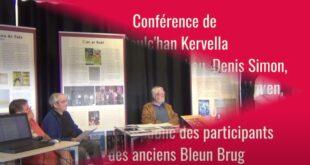 «L'histoire des Bleun Brug depuis 1905» par Goulc'han Kervella et ses invités